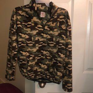 NWOT camouflage fleece